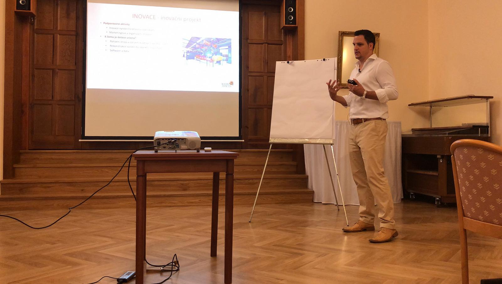 Konference na téma Dotační možnosti pro podnikatele a municipality v roce 2018 a 2019